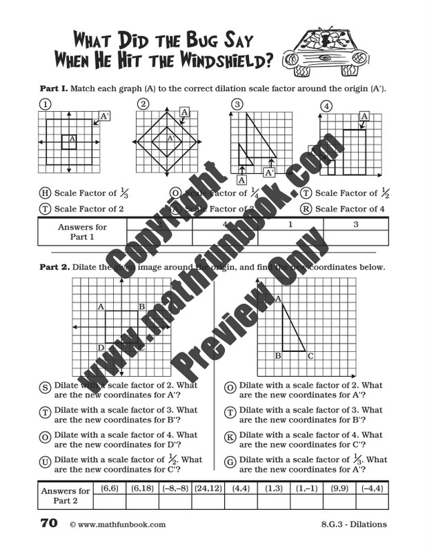 math dilations worksheet dilations and scale factors worksheetscongruence similarity worksheet. Black Bedroom Furniture Sets. Home Design Ideas
